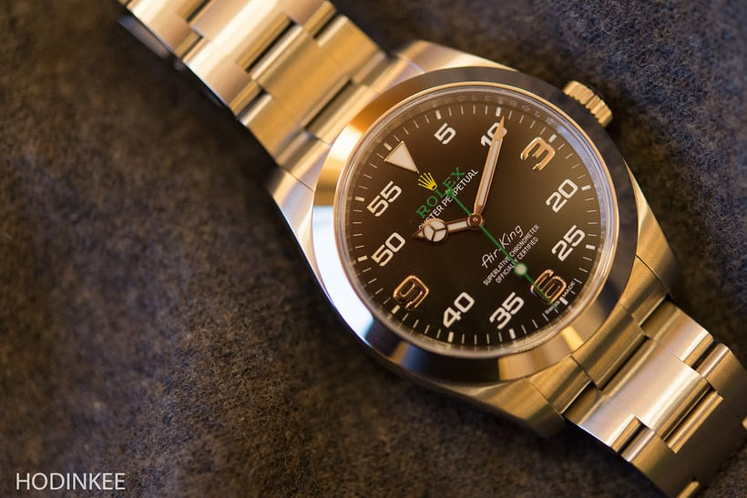 The Rolex Air-King Reference 116900