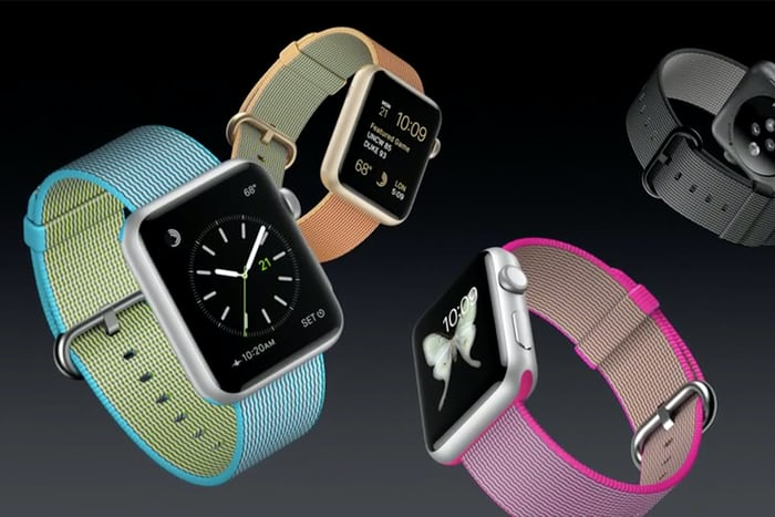 apple watch nylon straps