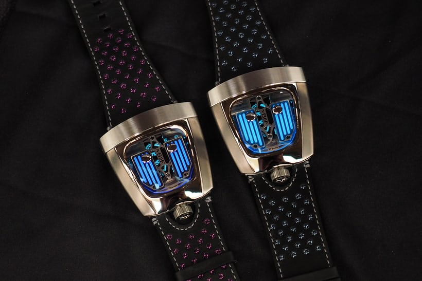 mb&f hmx black badger glowing