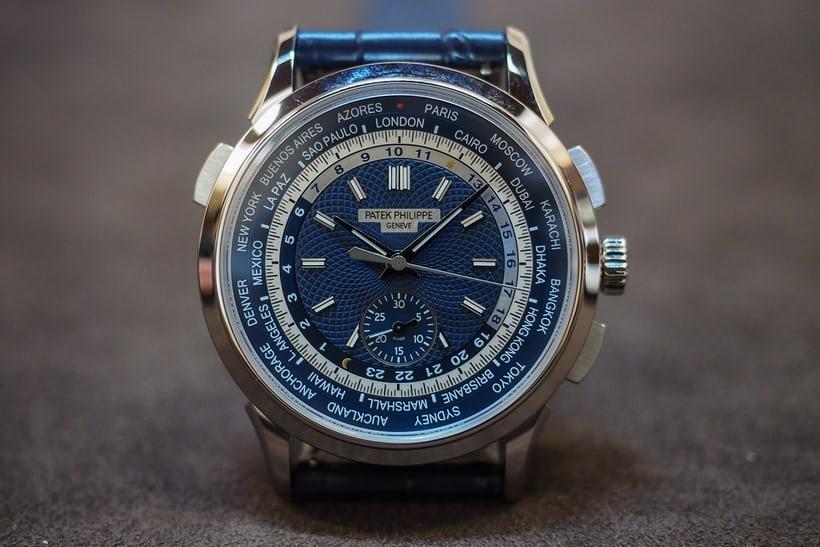 patek 5930 world time chronograph