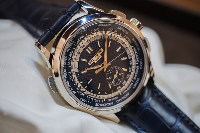 patek 5930 world time chronograph lifestyle