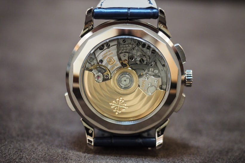 patek 5930 world time chronograph movement