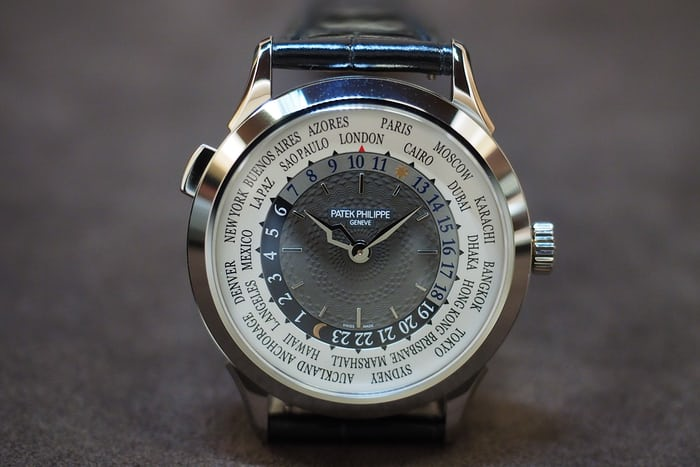 world time patek 5230
