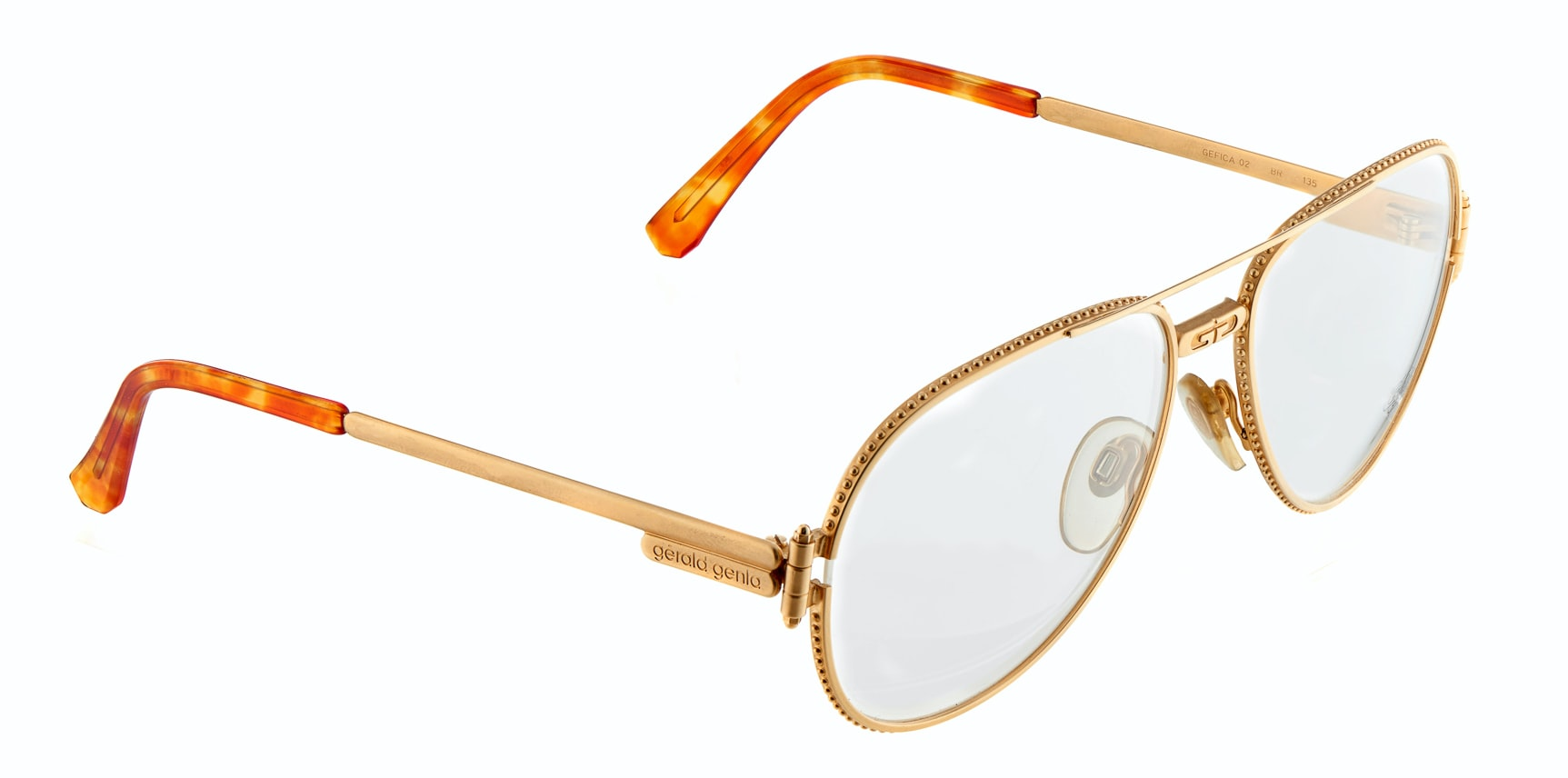 Gerald Genta Eye Glasses Found: Two Pairs Of Vintage Gerald Genta Designed Eyeglasses, For Sale Found: Two Pairs Of Vintage Gerald Genta Designed Eyeglasses, For Sale 1