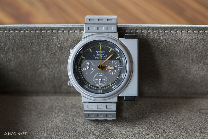 Seiko (x Giugiaro) 7A28 Quartz Chronograph