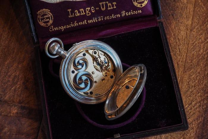 lange observation pocket watch movement