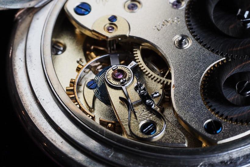 lange observation pocket watch balance