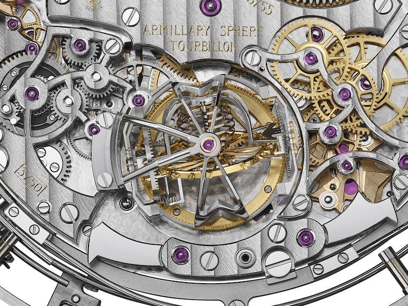 Vacheron 57260 closeup armillary tourbillon