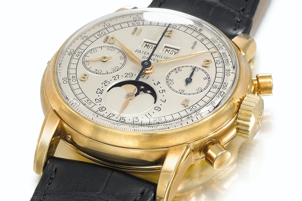 Patek Philippe second series ref. 2499