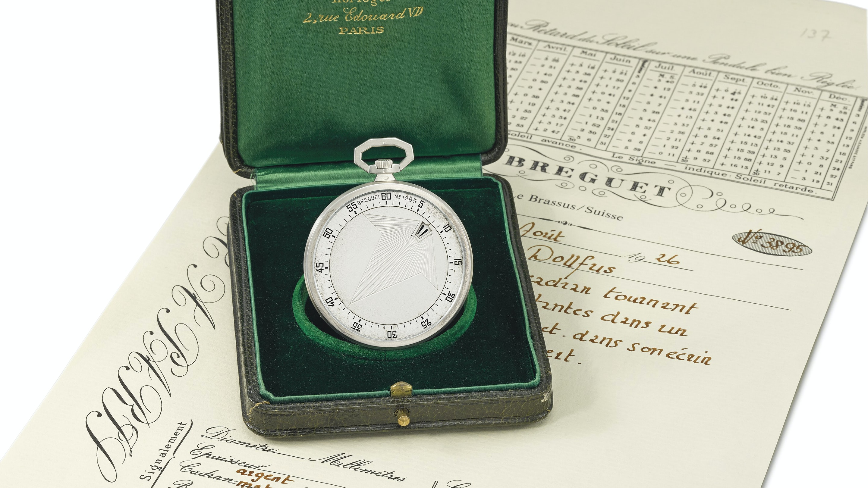 Found: A Breguet Pocket Watch, A Renoir, And The Mystery Of One Of The Greatest Breguet Collectors