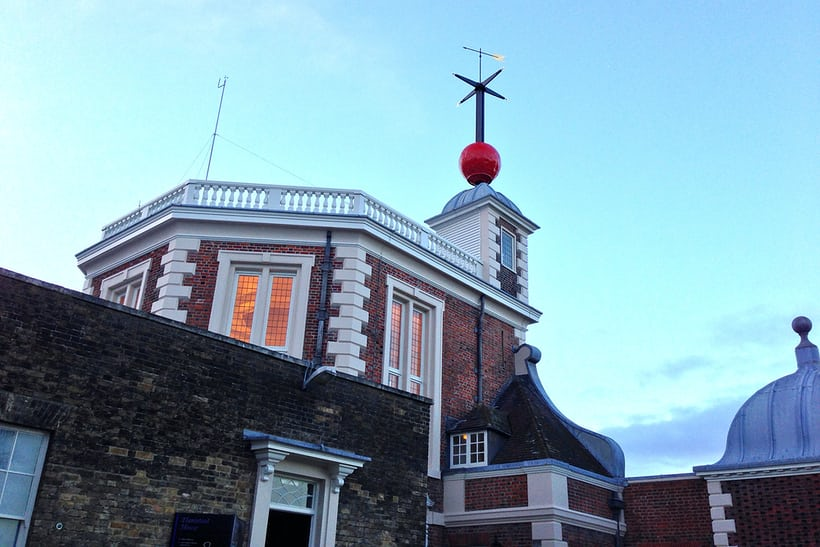 The Time Ball at the Royal Observatory, Greenwich