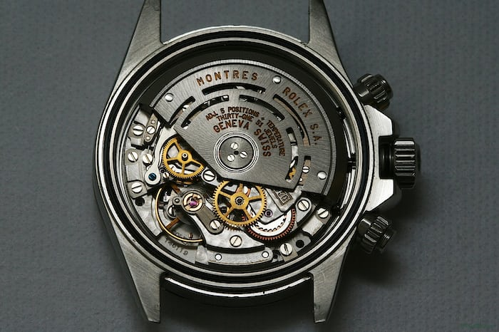 Only 50 percent of Zeniths' 400 Series El Primero remained after Rolex was done modifying it.
