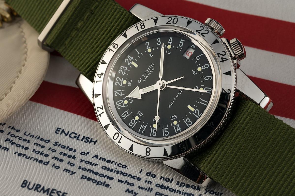 a week on the wrist the glycine airman no 1 hodinkee