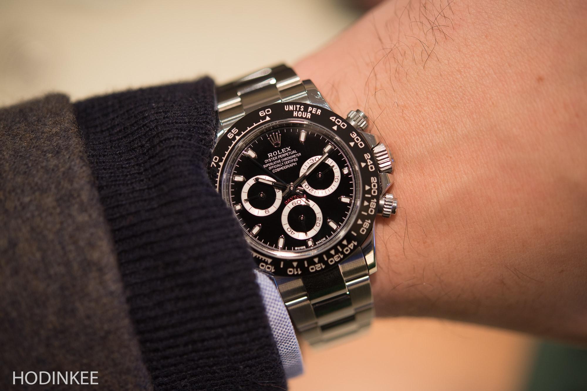 Rolex Daytona Ceramic Wrist armourseal.co.uk