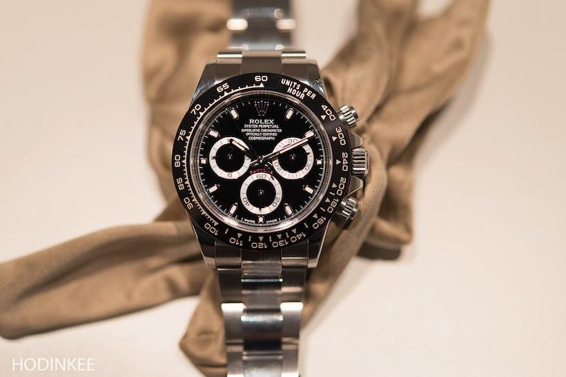 Rolex Daytona Reference 116500LN Black Dial