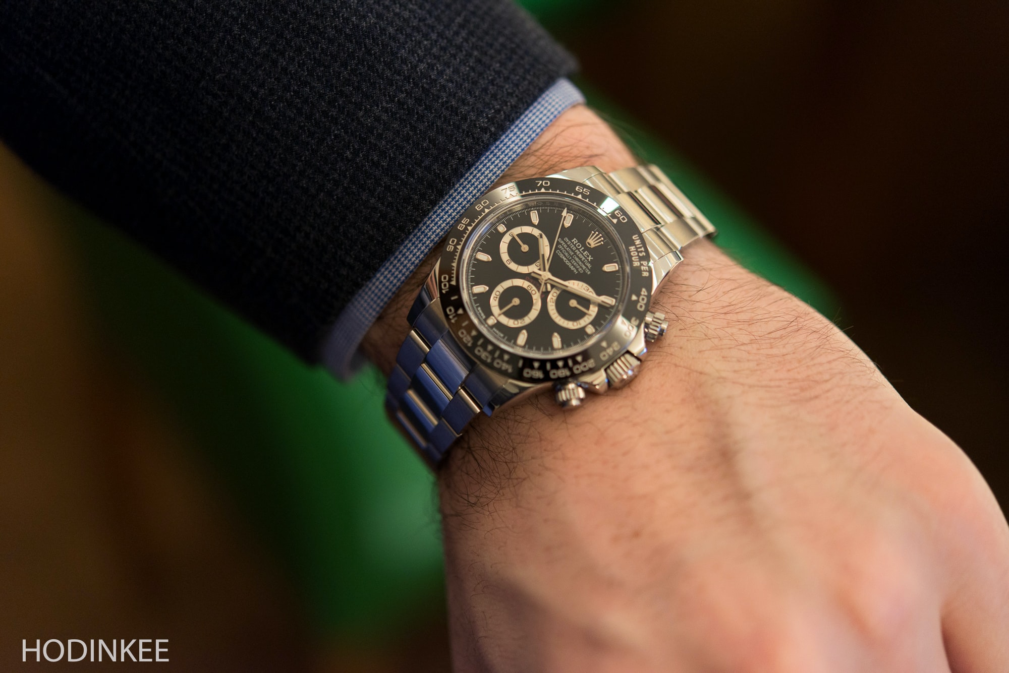 Hands,On The New Rolex Daytona Reference 116500LN (Live