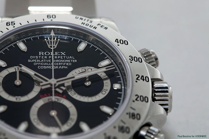 Reference 11620 housing the in-house caliber 4130 was launched at Baselworld 2000 and became a sensation.