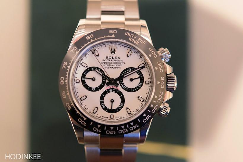 Rolex Daytona Reference 116500LN White Dial