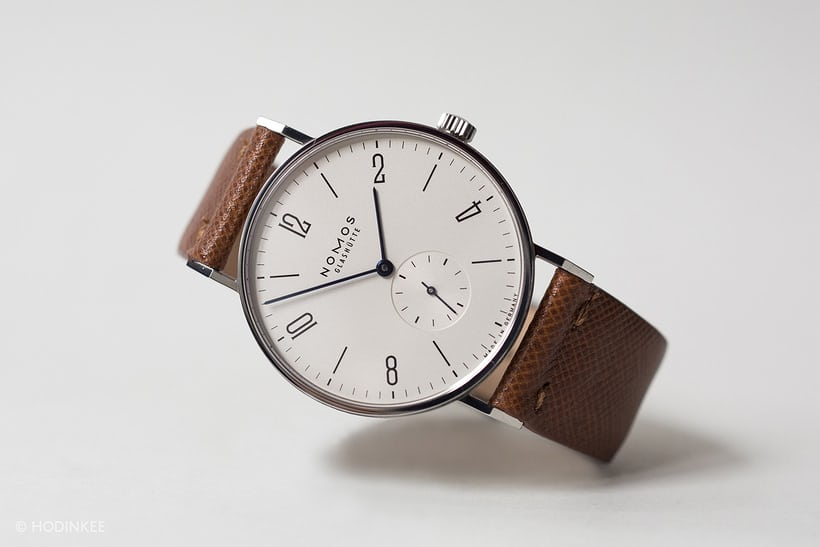 NOMOS Glashütte Tangente, one of the first watches made by NOMOS