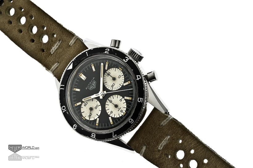 The Heuer Autavia Ref 2446 'Rindt' is safely through to Round Two