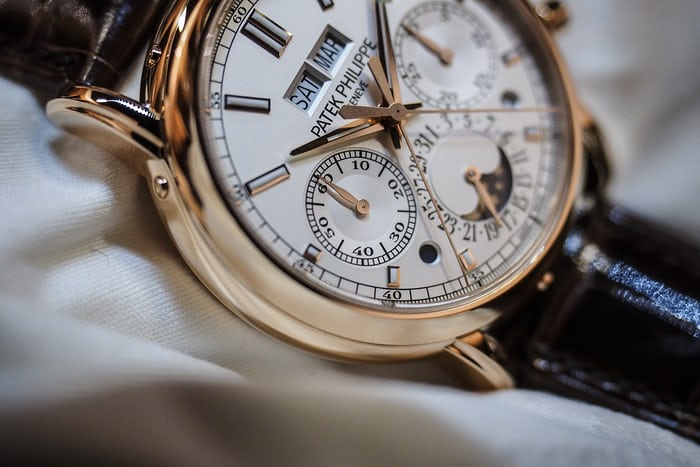 Patek 5204R sub register