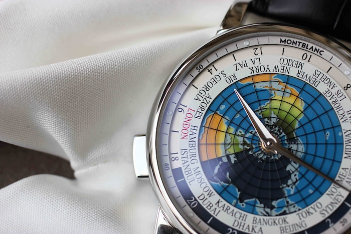 Montblanc 4810 Orbis Terrarum close up