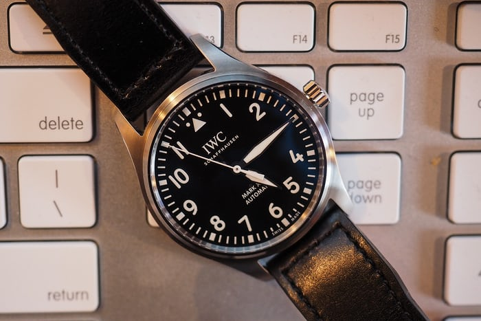 iwc mark xviii closeup