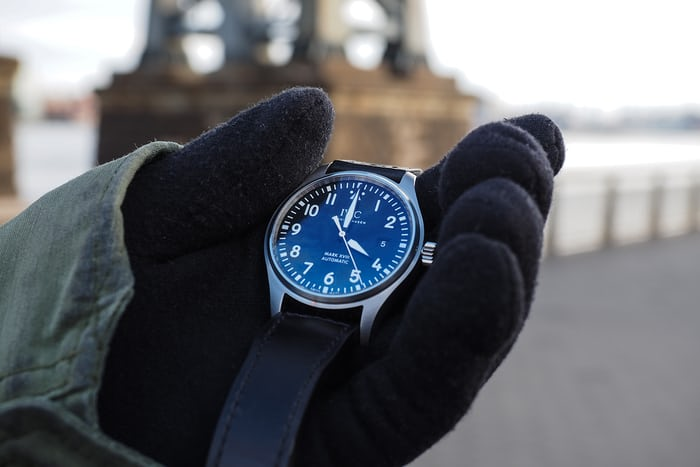 iwc mark xviii by the williamsburg bridge