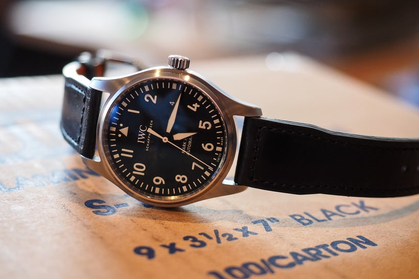 iwc mark xviii date window