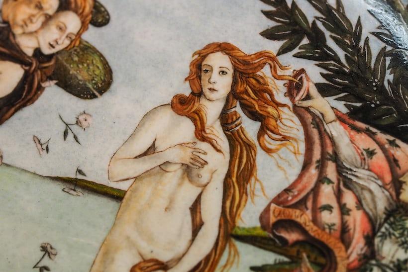 practice enamel dial, jaeger lecoultre le sentier birth of venus