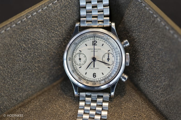 patek 1463 chronograph in steel