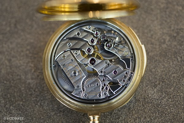 tiffany patek minute repeater movement