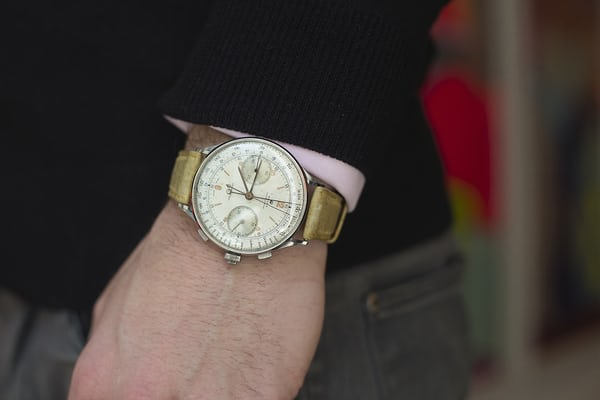rolex split seconds 4113 wrist