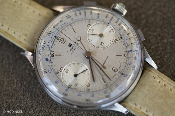 Rolex split seconds 4113 dial