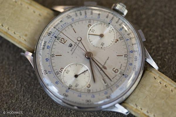 Rolex split seconds 4113 dial