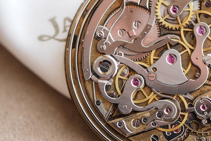 Jaeger LeCoultre Ultra Thin Chronograph Repeater 19 RMCCVEP chrono column wheel