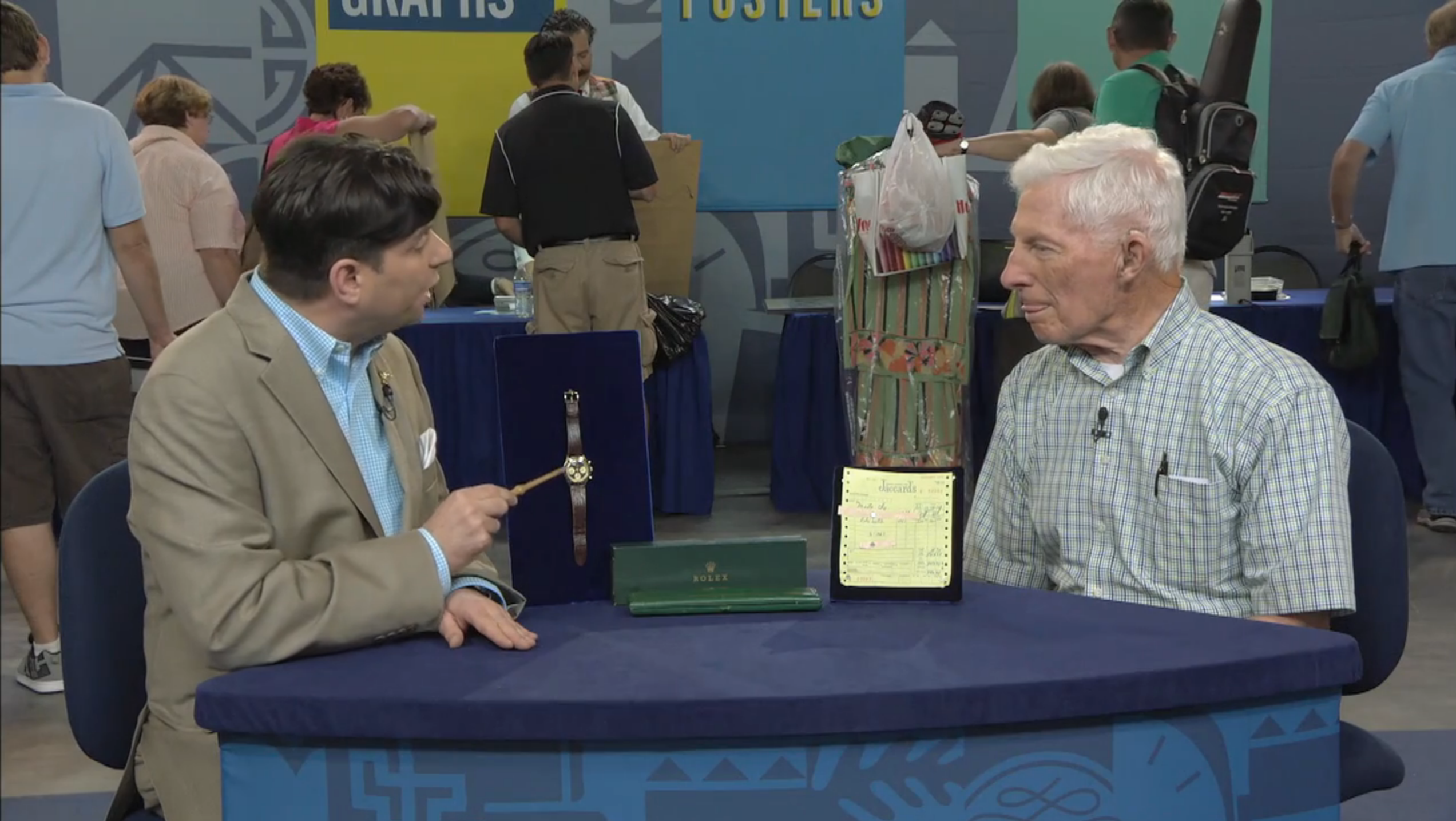 Man Buys Rolex Daytona For $543 in 1973, Takes It To Antiques Roadshow Where He's Told It's Worth $100,000, Though Actually Worth Even More (Oh, And It's Now For Sale) Screen Shot 2016 04 20 at 1