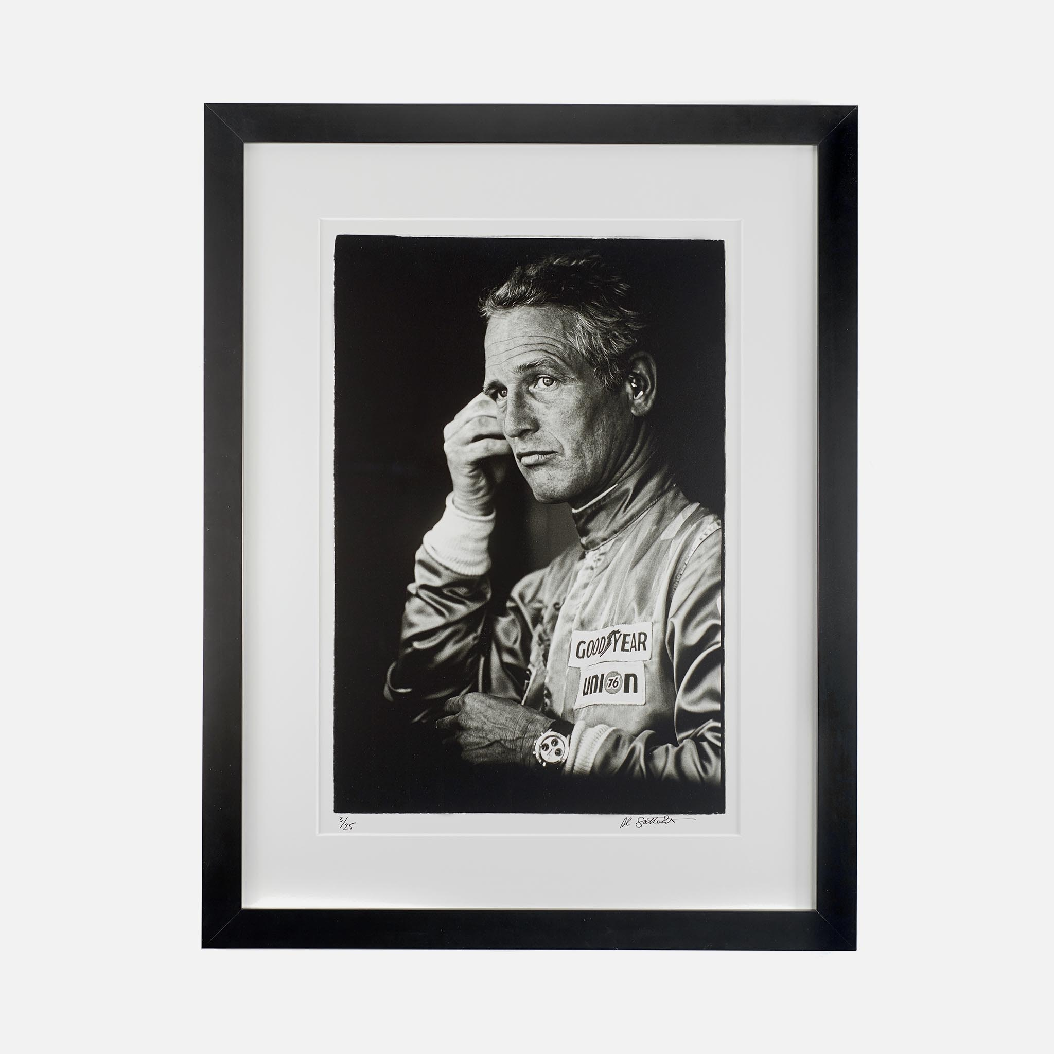Introducing: The Al Satterwhite Signed Paul Newman Print, Available In HODINKEE Shop In Limited Quantities NewmanPrint A 2