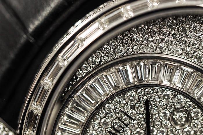 piaget 900D dial closeup