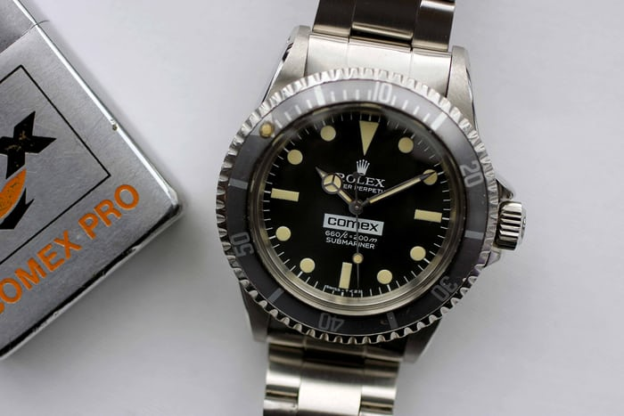 Rolex Submariner Comex Reference 5514
