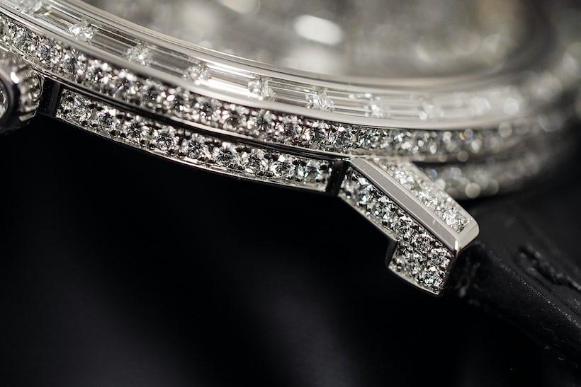 piaget 900D lugs closeup