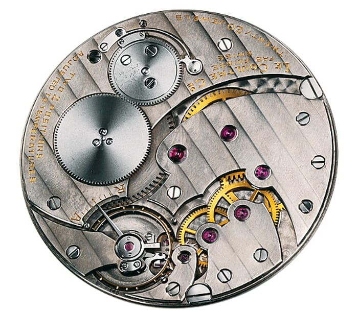 LeCoultre caliber 145, 1.38mm thick.