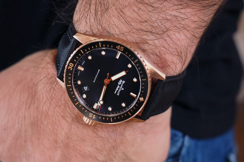 Blancpain Fifty Fathoms Sedna Gold