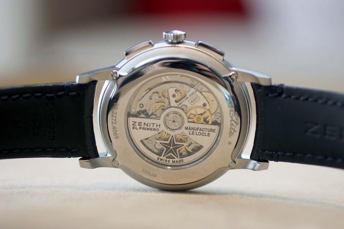 Zenith Elite Chronograph Classic Movement
