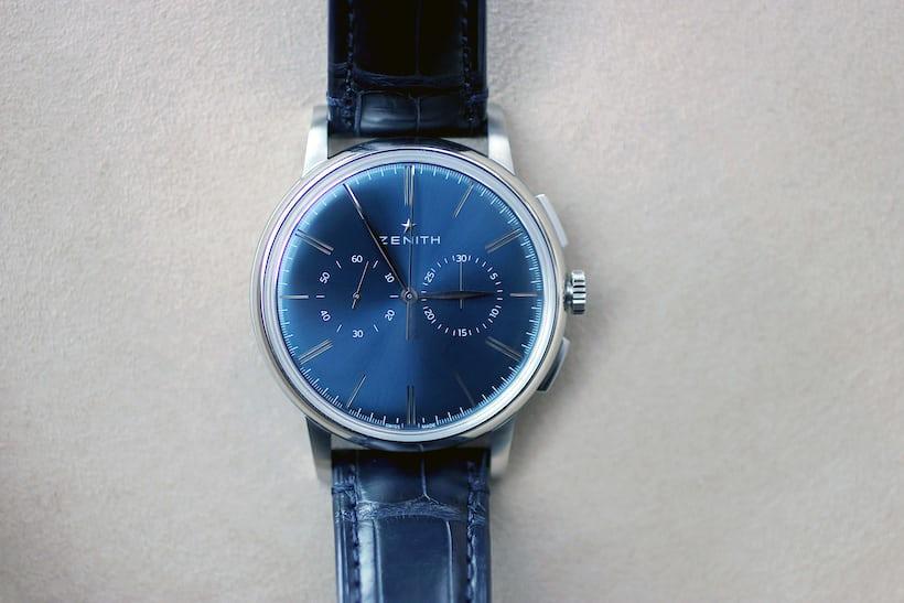 Zenith Elite Chronograph Classic Blue Dial