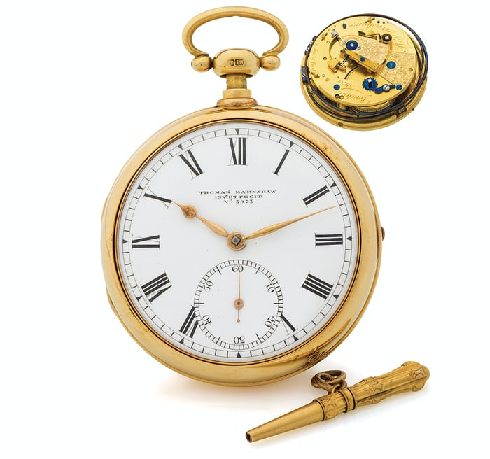 Earnshaw Pocket Chronometer Quarter Repeater