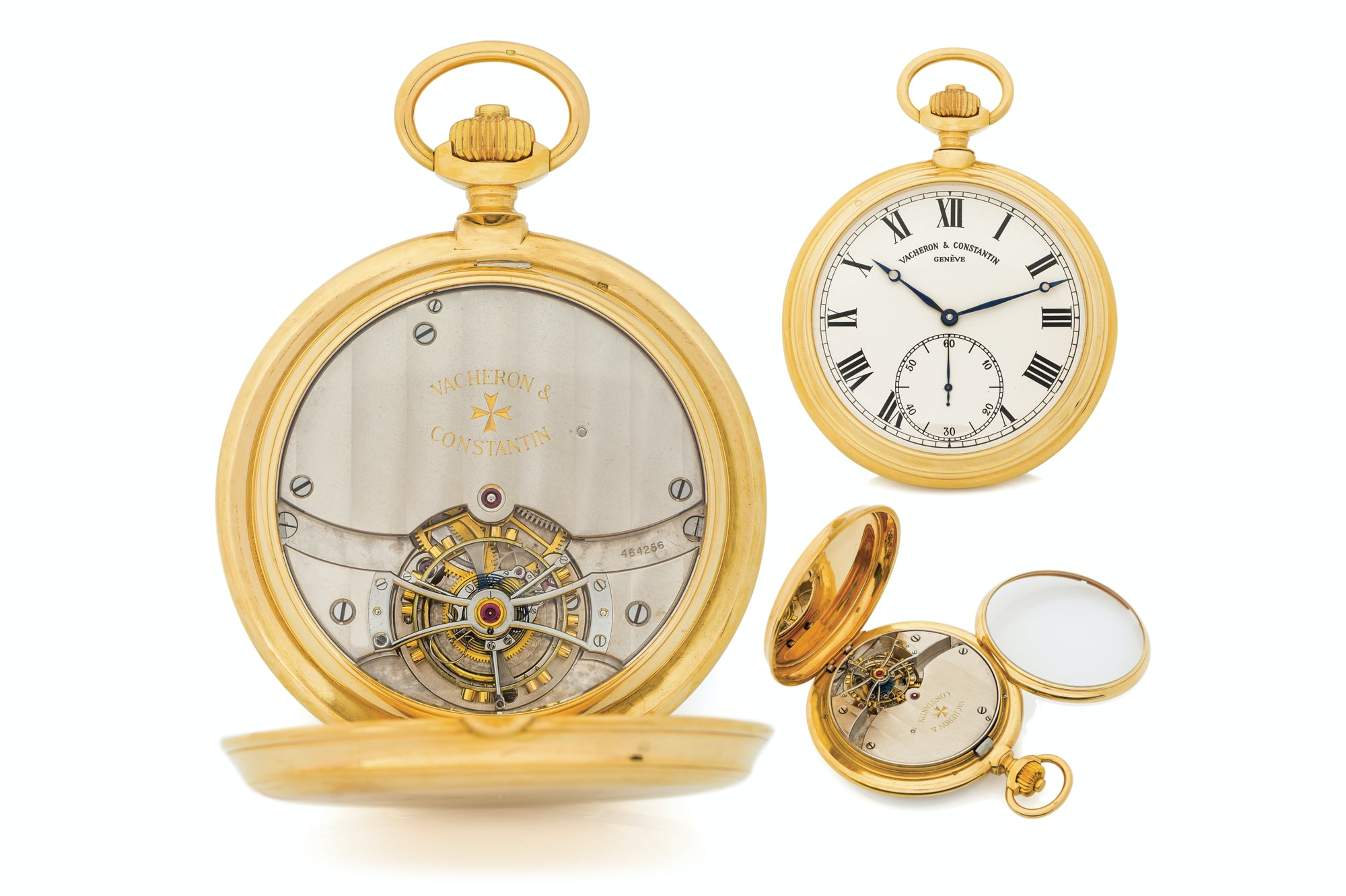 Vacheron Observatory Pocket Tourbillon 2 Seven Pocket Watches That Will Make You Forget Wristwatches (And Wonder Why They've Gotten So Pricey) From The Antiquorum 'Important Modern & Vintage Timepieces' Auction Seven Pocket Watches That Will Make You Forget Wristwatches (And Wonder Why They've Gotten So Pricey) From The Antiquorum 'Important Modern & Vintage Timepieces' Auction c2