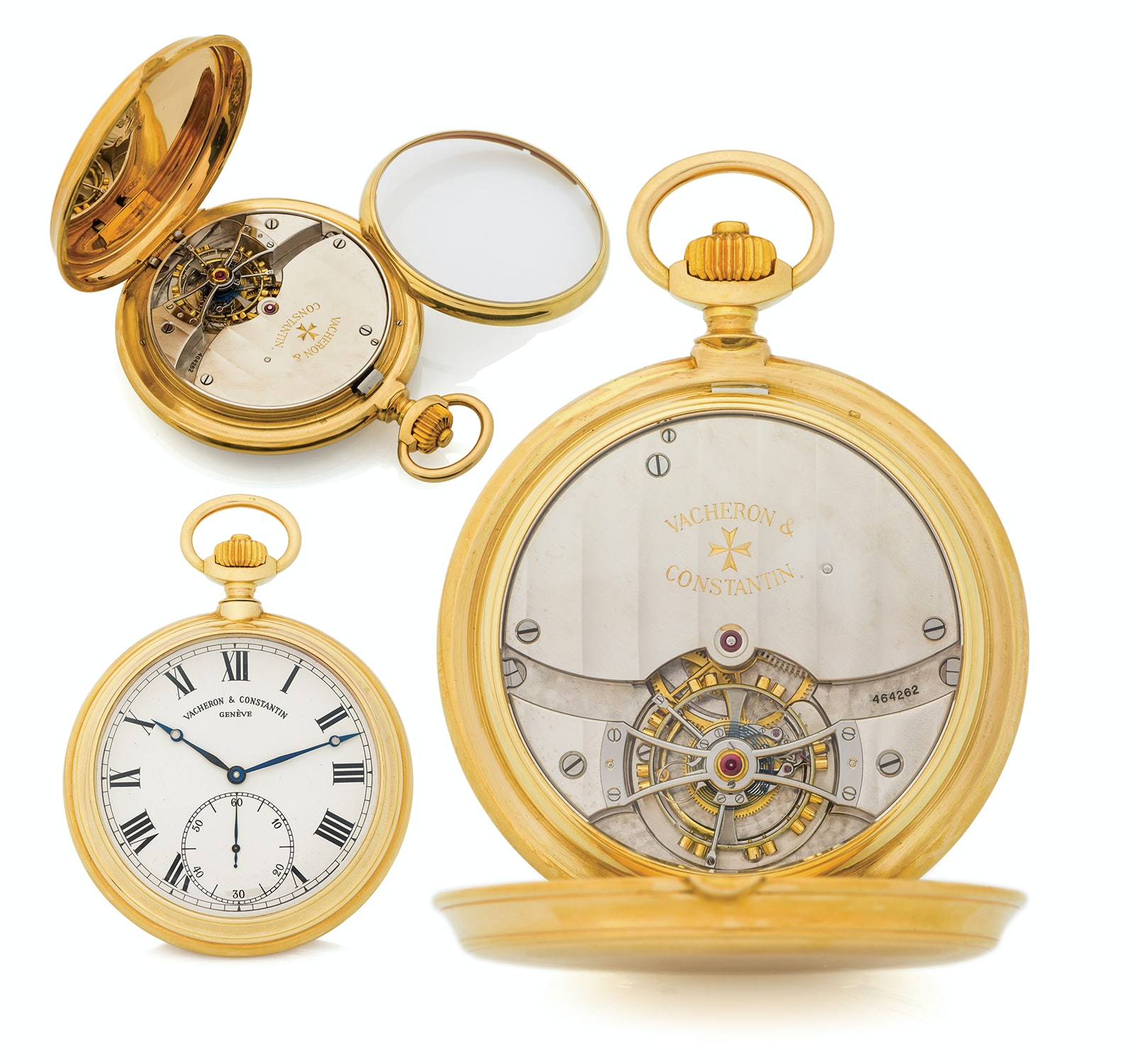 Vacheron Observatory Pocket Tourbillon 3 Seven Pocket Watches That Will Make You Forget Wristwatches (And Wonder Why They've Gotten So Pricey) From The Antiquorum 'Important Modern & Vintage Timepieces' Auction Seven Pocket Watches That Will Make You Forget Wristwatches (And Wonder Why They've Gotten So Pricey) From The Antiquorum 'Important Modern & Vintage Timepieces' Auction d2