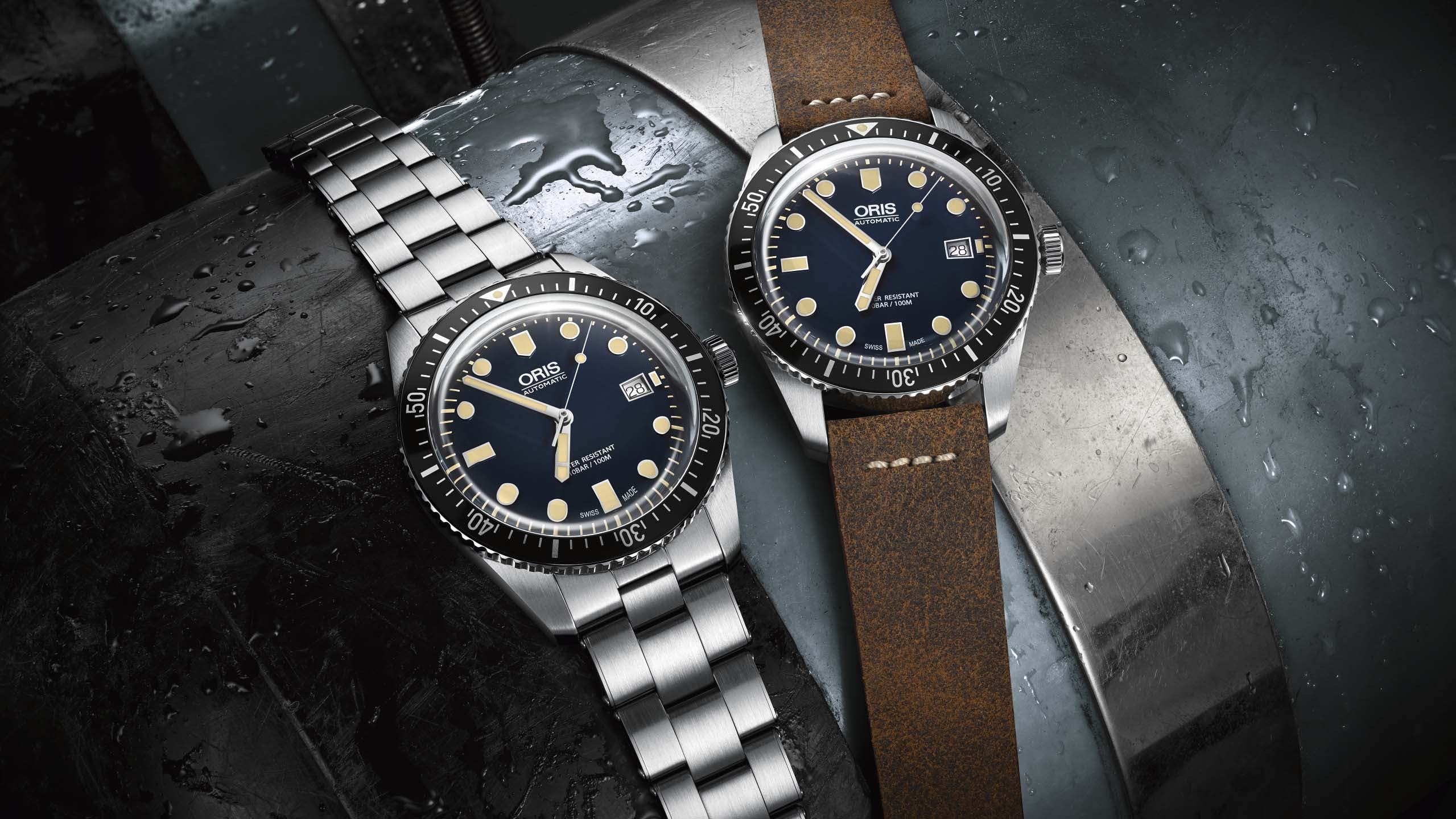 3cac5b04fc6 Introducing  Three New Divers From Oris – One Heritage Update