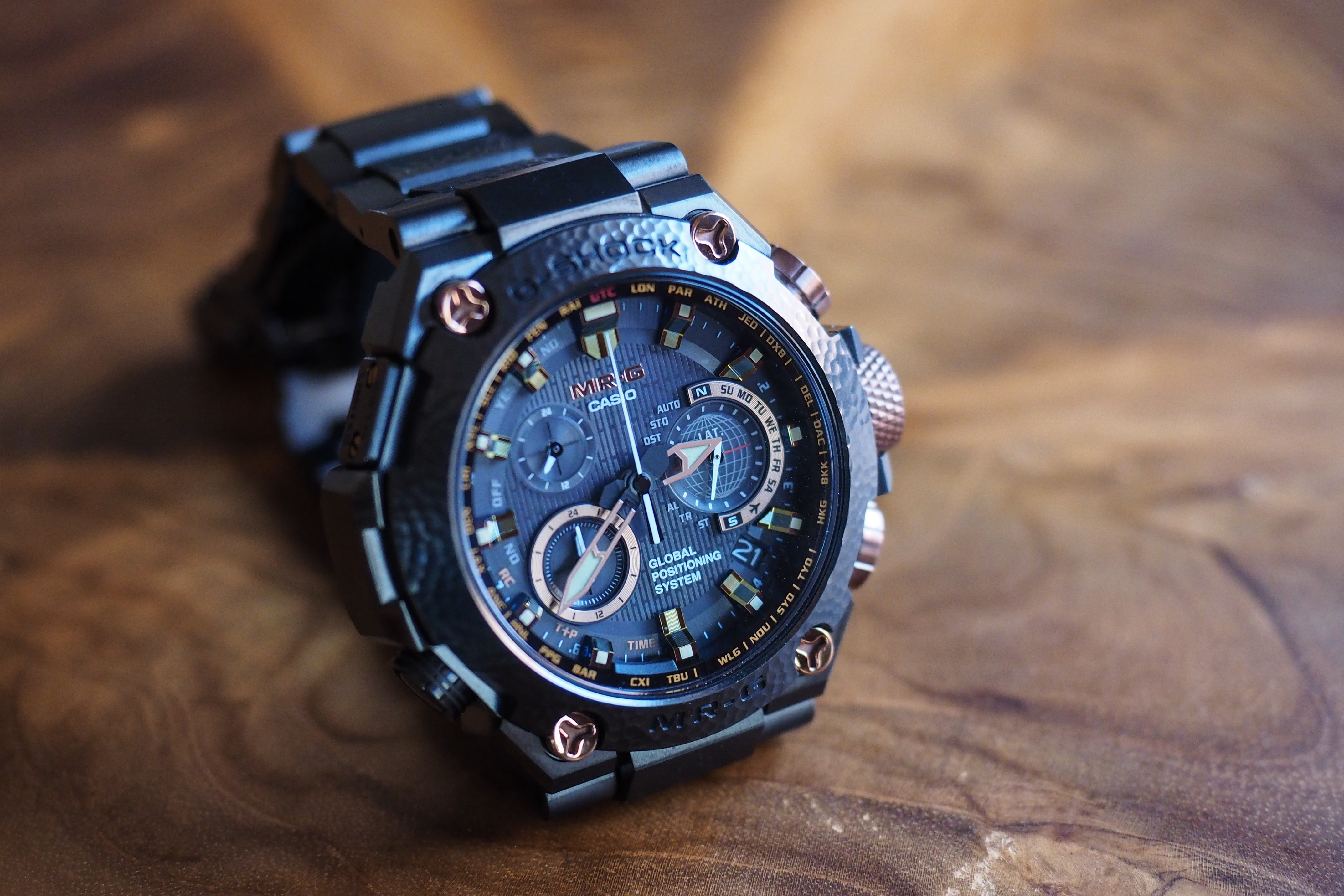 In-Depth: Cyborg Samurai: The Casio G-Shock MR-G Limited Edition 'Hammer Tone' In-Depth: Cyborg Samurai: The Casio G-Shock MR-G Limited Edition 'Hammer Tone' P4210002